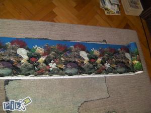 3 metra dvostrane pozadine za akvarijum -NOVO