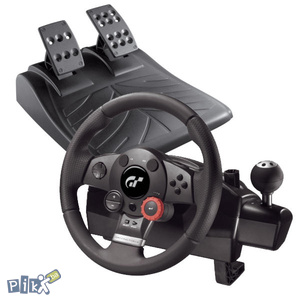 Logitech Driving Force GT, PC, PS3 Novo!!!