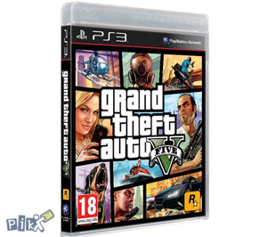 Grand Theft Auto V PS3/PlayStation 3/Xbox 360 GTA 5 PS4