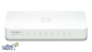 Switch 8-portni D-Link GO-SW-8E