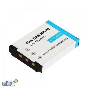 Baterija Casio NP-70, EX-Z150, EX-Z250