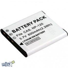 Baterija Casio NP-120, Exilim EX-S200