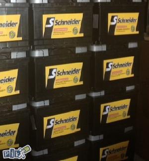 Auto akumulator SCHNEIDER akumulatori NOVO !!