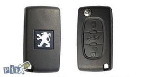Skakavac ključ za PEUGEOT 407 207 sa znakom