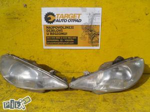 Dijelovi Far Lijevi Desni Peugeot 206 02