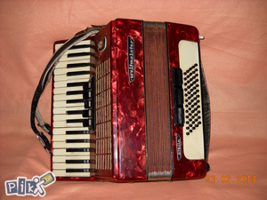 Harmonika Weltmaister 60 basova 5/3 Reg troglasna extra