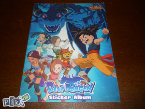Album za sličice blue dragon