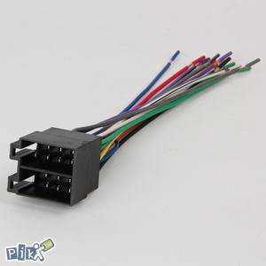 Iso konektor Euro Dzek za autoradio muski ili zenski