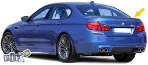 BMW 5 F10 Spojler gepeka LIP M Look