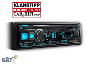 Auto CD USB Bluetooth Alpine CDE-185BT