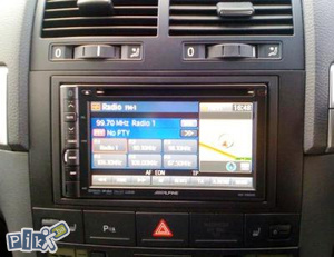 Radio CD Blenda Adapter VW touareg Multivan