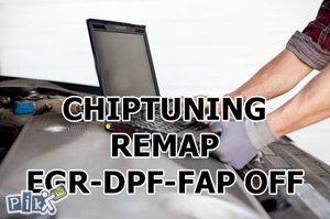 Chip tuning REMAP - EGR, DPF FAP off