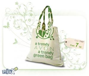 Avon Trendy Green Ceker