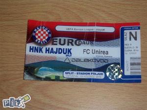 Ulaznica Hajduk - FC Unirea