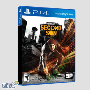 InFAMOUS Second Son (PlayStation 4 - PS4)