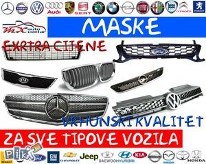 Maske za sve tipove vozila