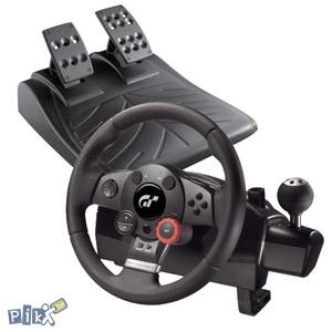 Logitech Driving Force GT, PC, PS3 Novo!!!