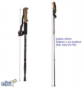 Štap za planinarenje (pluto ručka) planinarski štap