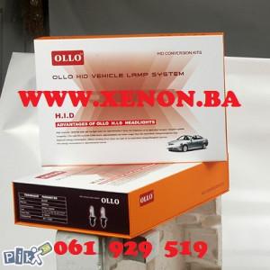 OLLO xenon set H1, H3, H4, H7, H11 + GARANCIJA