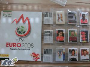 Panini Euro 2008 Kompletan set sličica i prazan album