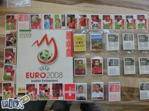 Panini Euro 2008 Set sličica i prazan album