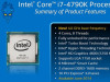 Intel® Devil's Canyon i7 4790K 4.0-4.4GHz