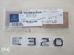 Original Mercedes Benz oznaka E 320