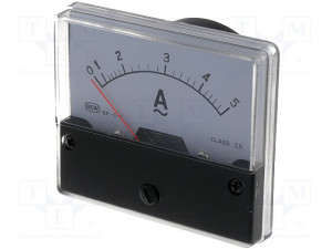 Ampermetar ugradni 0-5A (4341)