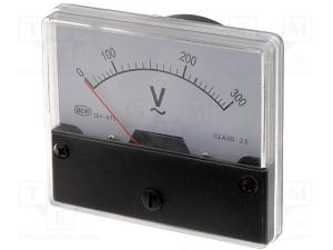Voltmetar ugradni 0-300V (5033)