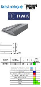 Noževi za blanjanje terminus sistem