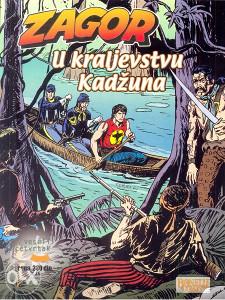 Zagor 89 - U kraljevstvu Kadžuna (VČ, GLANC)