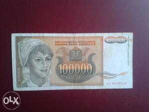Novčanice YUGOSLAVIJA