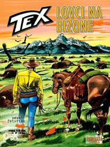 Tex 22 - Lovci na bizone (VČ, GLANC)