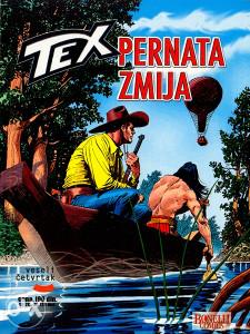 Tex 17 - Pernata zmija (VČ, GLANC)
