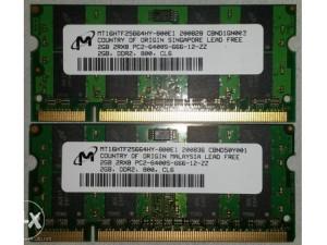 Ram MICRON 2GB DDR2